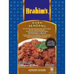 Brahim's Kuah Rendang Sauce 180g Rendang Sauce