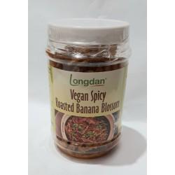 Longdan Vegan Spicy 100g Roasted Banana Blossom