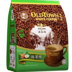 Old Town 2 in 1 Instant Premix Hazelnut White Coffee...