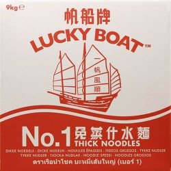 Lucky Boat Number 1 9kg Thick Egg Noodles