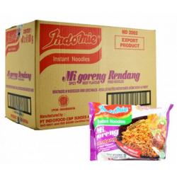 Indomie Mi Goreng Rendang 40x80g Spicy Beef Flavoured...