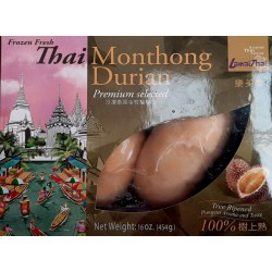 Lamai Thai Monthong Durian 454g Frozen Peeled Fruit...