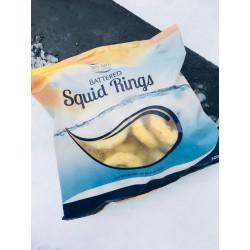 SeaGem Battered Squid & Fish Rings 500g Frozen Battered...