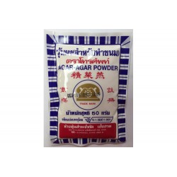 Telephone Agar-Agar Powder Nutrient 50g Vegan Seaweed Fiber Agar-Agar