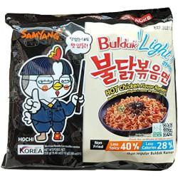 Samyang Buldak Light Hot Chicken Ramen 5 Pack 550g Hot...