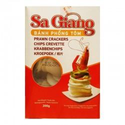 Sa Giang Prawn Crackers 200g Bánh Phồng Tôm Prawn Cracker Chips
