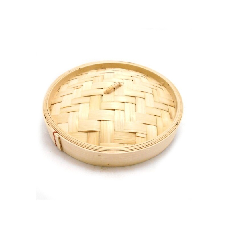 """East Asia Brand 8"""" Bamboo Steamer Cover"""
