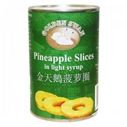 Golden Swan Pineapple Slices in Light Syrup 425g Pineapple Slices