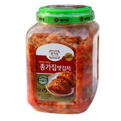 Jongga (Poggi Kimchi) Whole Cabbage Kimchi 2.5kg Whole Cabbage Kimchi