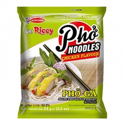 Oh Ricey Noodles Phở Gà 70g Instant Chicken Vietnamese Rice Noodles