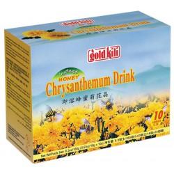 Gold Kili Instant Honey Chrysanthemum Drink (10 Sachets) 180g Instant Honey Chrysanthemum Drink