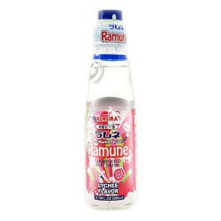 Kimura Ramune Carbonated Soft Drink Lychee Flavor 200ml Carbonated Soft Drink Lychee Flavor