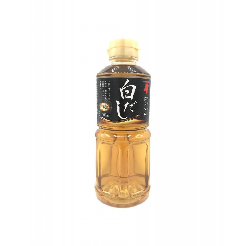 Ninben Shiro Dashi Concentrated Japanese Style Soup Stock 500ml Shiro Dashi