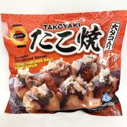 J-Basket Frozen Takoyaki Cooked Pancake Ball with Octopus 480g Frozen Takoyaki Cooked Pancake Ball
