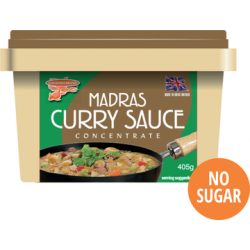 Goldfish Brand Full Case of Madras Curry Sauce 12x405g Full Case of Madras Curry Sauce