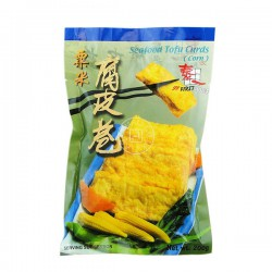 First Choice Seafood Tofu Curds with corn 200g Frozen Tofu Corn Curds