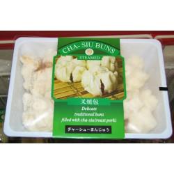 Superior Food Steamed Roast Pork Cha-Siu Buns 300g Steamed Roast Pork Cha-Siu Buns