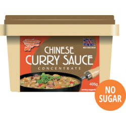 New Packaging Goldfish Brand Chinese Curry Sauce 6x405g Concentrate