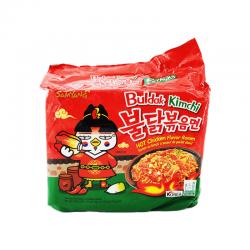 Samyang Buldak Kimchi Hot Chicken Flavor Ramen 675g (135g x 5) Buldak Kimchi Hot Chicken Flavor Ramen