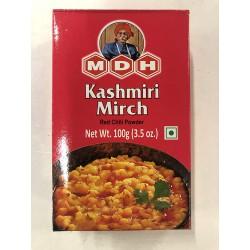 MDH Kashmiri Mirch (Red Chilli Powder) 100g Kashmiri Mirch