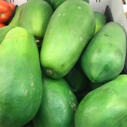 Zing Asia Spanish Green Papaya 450-599g Spanish Green Papaya