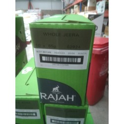 Full Case of 10x Rajah 85g...