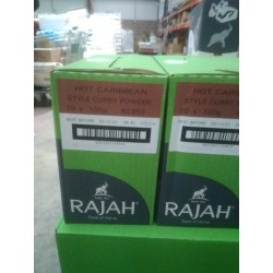 Full Case of 10x Rajah Hot...