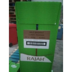 Full Case of 10x Rajah 400g...