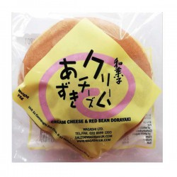 Wagashi Cream Cheese and Red Bean Dorayaki 75g Cream Cheese and Red Bean Dorayaki