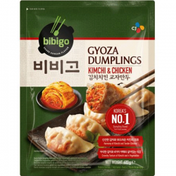 CJ Bibigo Gyoza Dumplings Kimchi & Chicken 600g Gyoza Dumplings Kimchi & Chicken