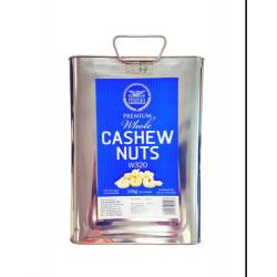 Heera Cashew Nuts W320 10kg Tin