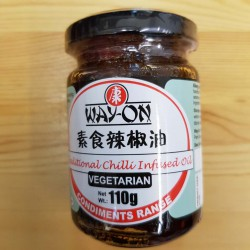 WAY-ON TRADITIONAL (辣椒油) 110G JAR CHILLI INFUSED OIL