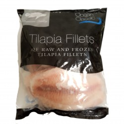 Ocean Classic IQF Raw and Frozen Tilapia Fillets 800g Frozen Tilapia Fillets