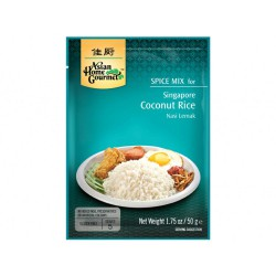 Asian Home Gourmet Spice Mix for Singapore Coconut Rice 50g Spice Mix for Singapore Coconut Rice