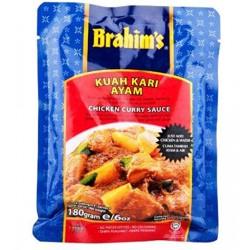 Brahim's Kuah Kari Aytam Chicken Curry Sauce 180g Chicken Curry Sauce