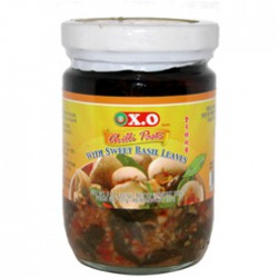 X.O Chilli Paste with Sweet Basil Leaves 200g Chilli Paste with Sweet Basil Leaves