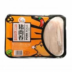 Kinda Foods Hand Rolled Pork Slices 400g Pork Rolls