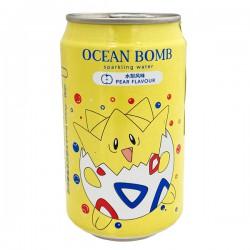 YHB Ocean Bomb Pokemon Pear Flavour 330ml Pokemon Sparkling Water