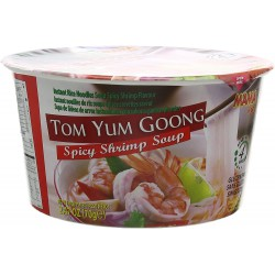 Mama Tom Yum Goong Spicy Shrimp Soup 70g Spicy Shrimp Soup