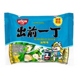Nissin Noodles HK Demae Ramen 100g Seafood Flavour (出前一丁 海鮮味湯麵) Japanese Noodles