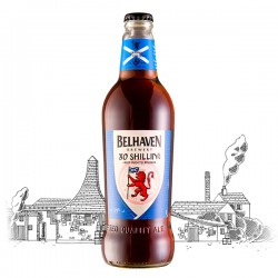 Belhaven Brewery 80 Shilling Beer 3.9% Alc 500ml 80 Shilling Beer