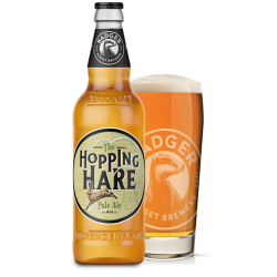 Badger The Hopping Hare Pale Ale 4% Alc 500ml The Hopping Hare Pale Ale