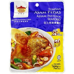 Tean's Gourmet Tumisan Asam Pedas Paste for Seafood 200g Tumisan Asam Pedas Paste for Seafood