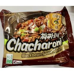 FULL CASE OF 20X SAMYANG CHACHARONI BLACKBEAN SAUCE RAMEN 140G (짜짜로니) KOREAN INSTANT RAMEN NOODLES
