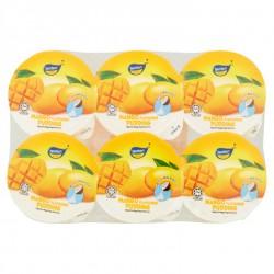 Tenten Pudding Mango Cups 6x80g Mango Nata De Coco Puddings