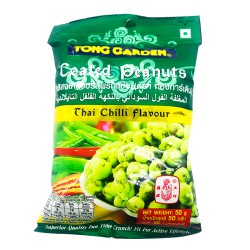 Tong Garden Thai Chilli Flavour Coated Peanuts 50g