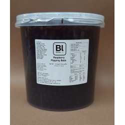 BOBA LAB Raspberry Popping Boba 3.2kg