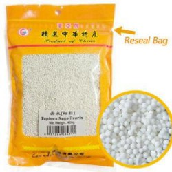 East Asia Brand Tapioca Sago Pearls 400g