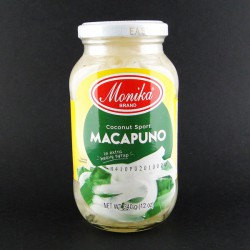 Monika Macapuno Shredded Coconut Meat Strings In Extra Heavy Syrup 340g