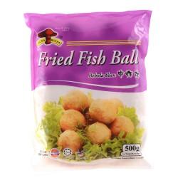 Mushroom Brand Fried Fish Balls 500g Frozen Fish